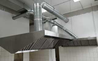 Монтаж вентиляции в кухне
